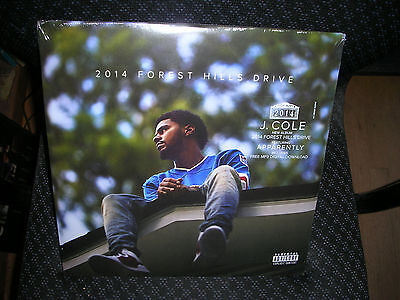 J. COLE ***2014 Forest Hills Drive **BRAND NEW RECORD LP (J Cole 2014 Forest Hills Drive Vinyl)