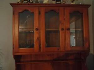Hutch / Display Cabinet (Pine) Wakerley Brisbane South East Preview