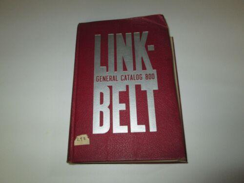 Vintage 1939 Link-Belt General Catalog 800