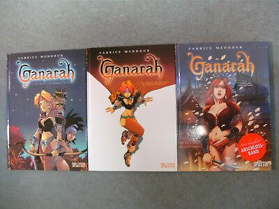GANARAH Band 1-3 / Komplette Serie / SPLITTER Comic Album / NEUWARE