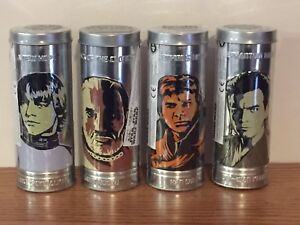 4 Vintage Star Wars reversible watches (3 are sealed)
