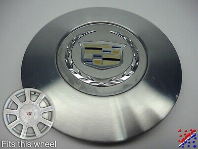 "Factory OEM Cadillac DTS Wheel Center Hub Cap Brushed 9594600 6-5/8"" Grade B"