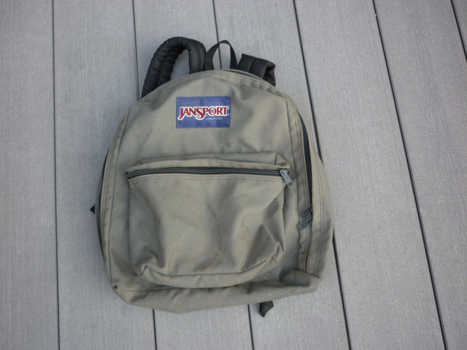 JANSPORT VINTAGE GREEN BACKPACK 1990'S USA Origina