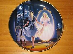 Cinderella Collectable Plates - Franklin Mint Sylvania Sutherland Area Preview