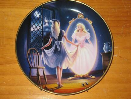 Cinderella Collectable Plates - Franklin Mint