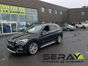 2016 BMW X1 xDrive28i, mags, toit pano, cuir,