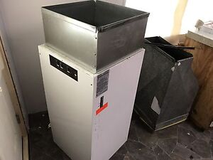Electric forced air furnace