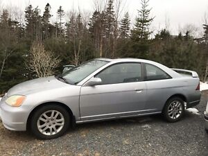 2003 Honda Civic si (motor needs replacement/rebuild)