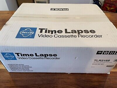 New In Sealed Box Pelco 3168 Time Lapse Video Cassette Recorder Vcr