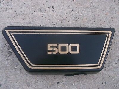1977 <em>YAMAHA</em> XS500 RIGHT SIDE COVER