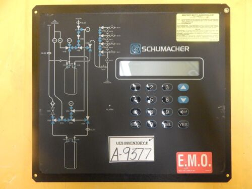 Schumacher 1730-3013 Operator Interface Control Panel Assembly Rev. F Used