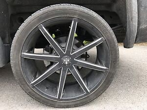 """Mags Roues Jantes 24"""" GMC 305/35r24 DUB"""