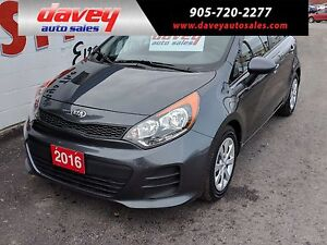 2016 Kia Rio5 ACTIVE ECO, BLUETOOTH, MP3 INPUT