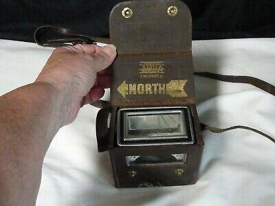 Vintage Aqua Survey And Instrument Co. Magnetic Locator--dip Needle Compass Wca