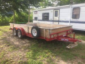 20' Texas Bragg   Car hauler  $3600.00