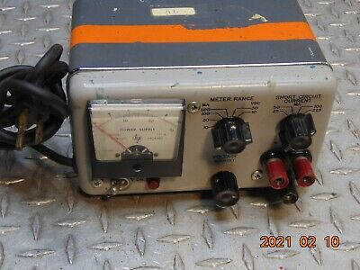 Vintage Hp Hewlett Packard 721a Adjustable Power Supply