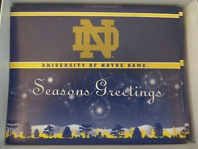 University of Notre Dame, Seasons Greetings Christmas cards, Box of 21+envelopes ()