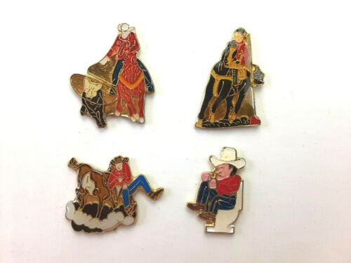 Vintage Cowboy Rodeo Pins Western from 80