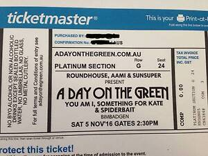 A Day On The Green Platinum Cessnock Cessnock Area Preview