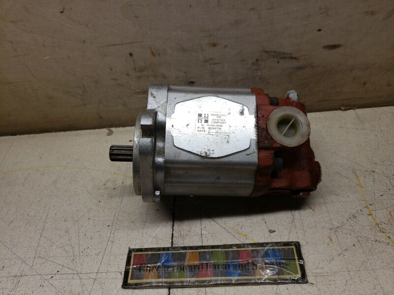 NOS Hyster Hydraulic Gear Pump 309076 for H40XL H30XL 1.5XL