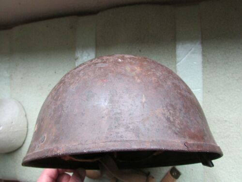 Nice  WW2 British Airborne Special Forces  Paratrooper Helmet ,Redone