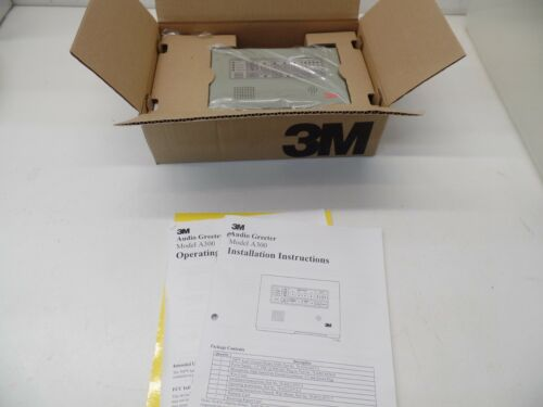 3M A300 Audio Greeter -- NEW