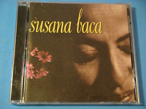 CD-SUSANA-BACA-Debut-1998-Luaka-Bop-WB-Beautiful-Melodic-Peruvian-Vocalist