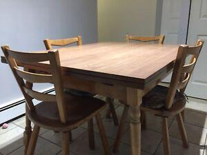 Set pour salle à manger / table cuisine + chaises