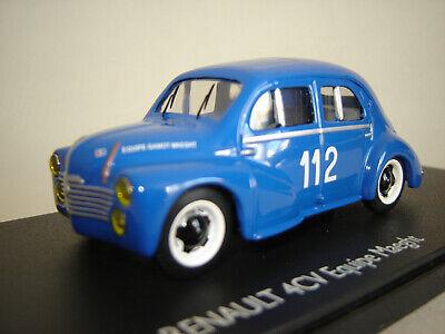 1/43 RENAULT 4CV 112 Equipe Gamot Maeght 1953 Eligor E100881