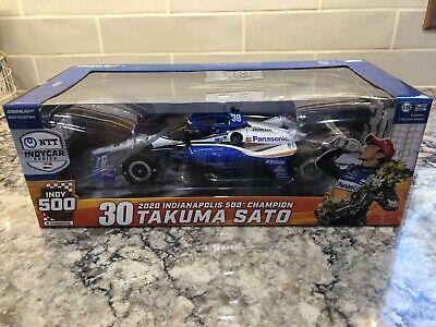 Greenlight 2020 Takuma Sato Indianapolis 500 Champion 1/18 In Stock
