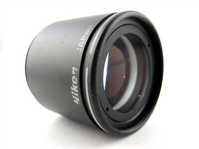 Nikon Plan 1x Microscope Objective Lens Laboratory Stereo Zoom Low Power Japan