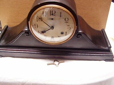 Antique Waterbury Westminister Chime Mantel Clock.Pat.May 27,1919.21inches long