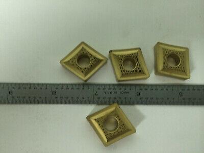 4 Pcs Kennametal Cnmp 643 Kc810 Carbide Inserts