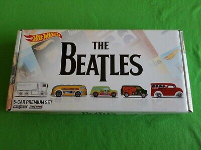 2017 Hot Wheels Pop Culture THE BEATLES EMPTY BOX