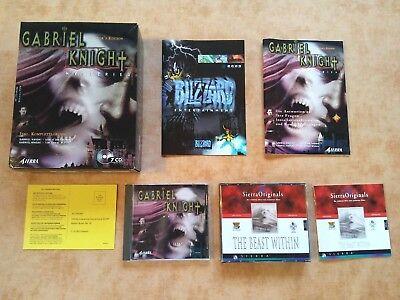 GABRIEL KNIGHT MYSTERIES COLL. EDITION   PC WIN 95/98   deutsch  USK 16 # comprar usado  Enviando para Brazil