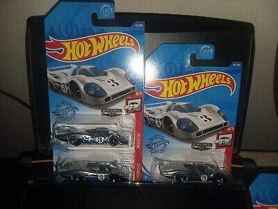 HOT WHEELS 2020 WALMART EXCLUSIVE  ZAMAC #6- PORSCHE 917 LN LOT OF 3 MINTY!