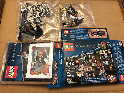 Lego 4191 Pirates Of The Caribbean Captain's Cabin In Bags!