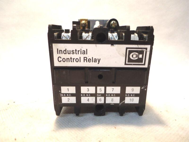 CUTLER-HAMMER AR440AR 10 AMP 120V COIL CONTROL RELAY