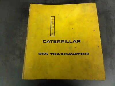 Caterpillar Cat 955 Traxcavator Repair Service Manual