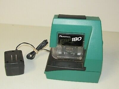 Acroprint Esp 180 Electronic Time Clock. Tested Working. Look Fast Free Shipping
