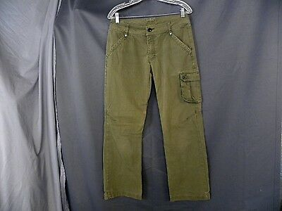 REI Women's Size 8P Hiking Fishing Soft Lightweight Tan Pants 31x29 5 Pockets