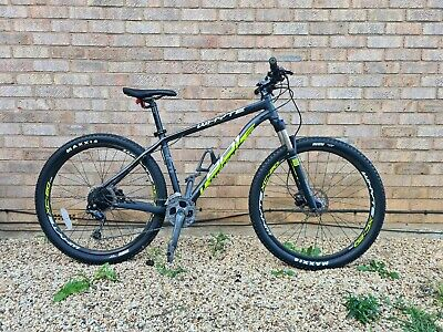 Mens used mountain bike front suspension