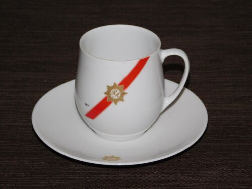 VINTAGE ROSENTHAL GERMANY TWA TRANS WORLD AIRLINES CERAMIC COFFEE CUP & SAUCER