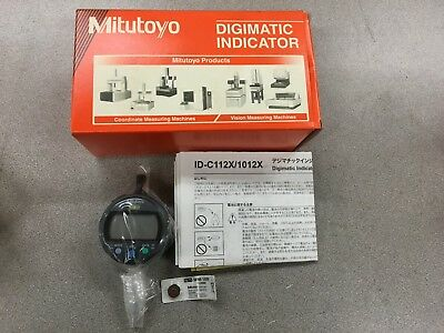 Mitutoyo 543-392b Digimatic Indicator 0-.50-12.7mm Range .00005 Resolution