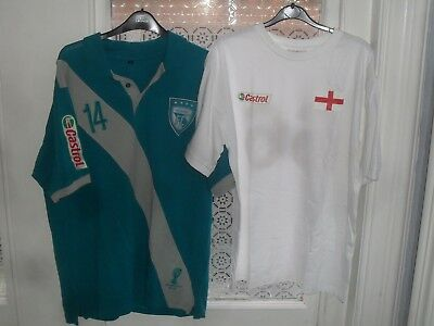 Castrol FC Football Shirt Soccer Jersey Top World Cup 2014 & England 1966 Shirt