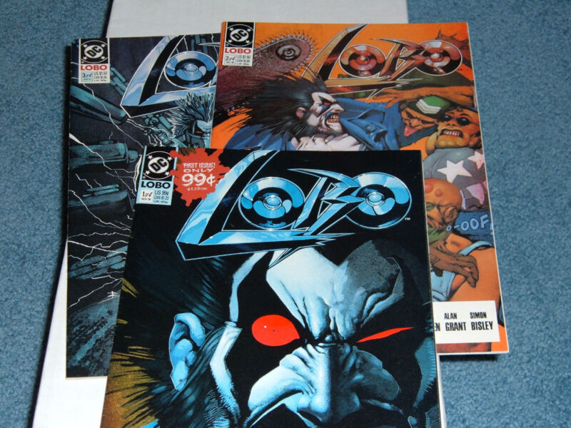 Lobo first solo series issues 1-3