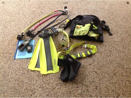 Scuba gear BCD and accesories Dive