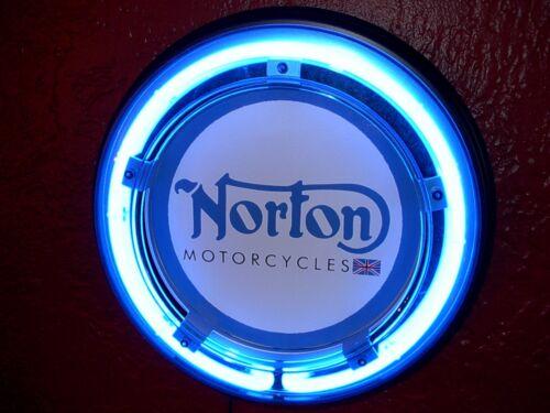 Norton Motorcycle Garage Man Cave Advertising Neon Sign