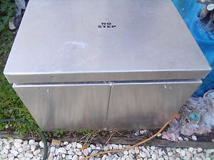 Stainless boat tank/esky/seat in good condition East Ipswich Ipswich City Preview