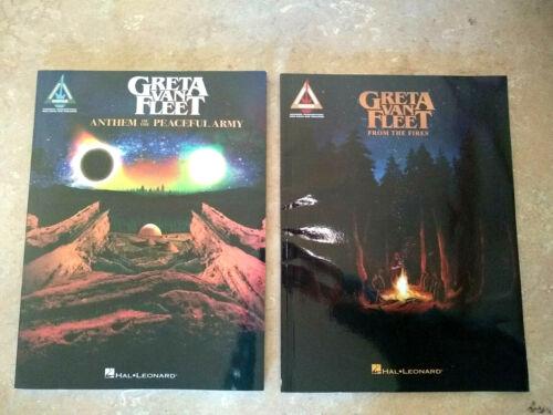 Greta Van Fleet Songbook Lot (2) BRAND NEW!  CHEAP SHIPPING